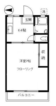 ハイツまゆみ105号室(賃貸)