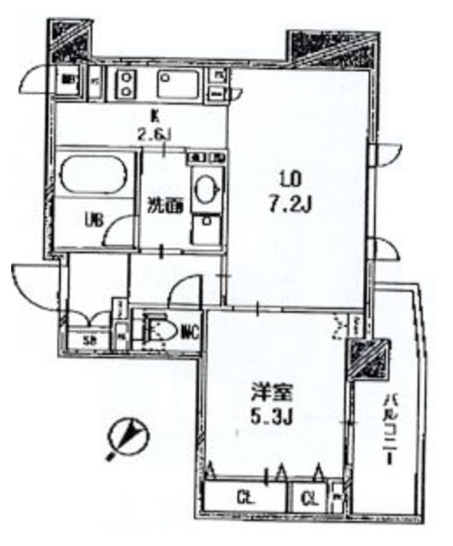 クリオ渋谷ラ・モード403(賃貸)