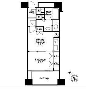 プレミアロッソ203号室(賃貸)