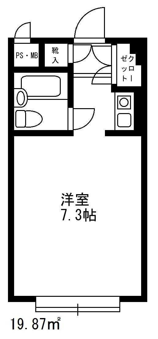 シャルム初台 210号室