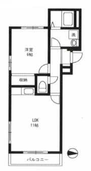 野沢フラット303号室(賃貸)