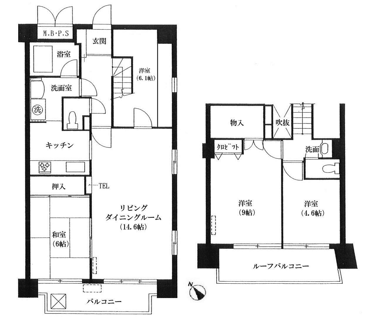 ベルアトーレ野沢 606号室