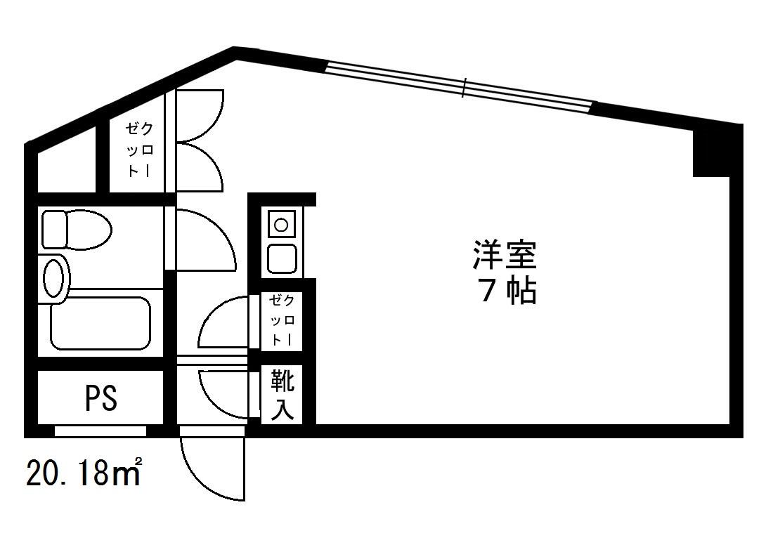 シャルム初台 113号室