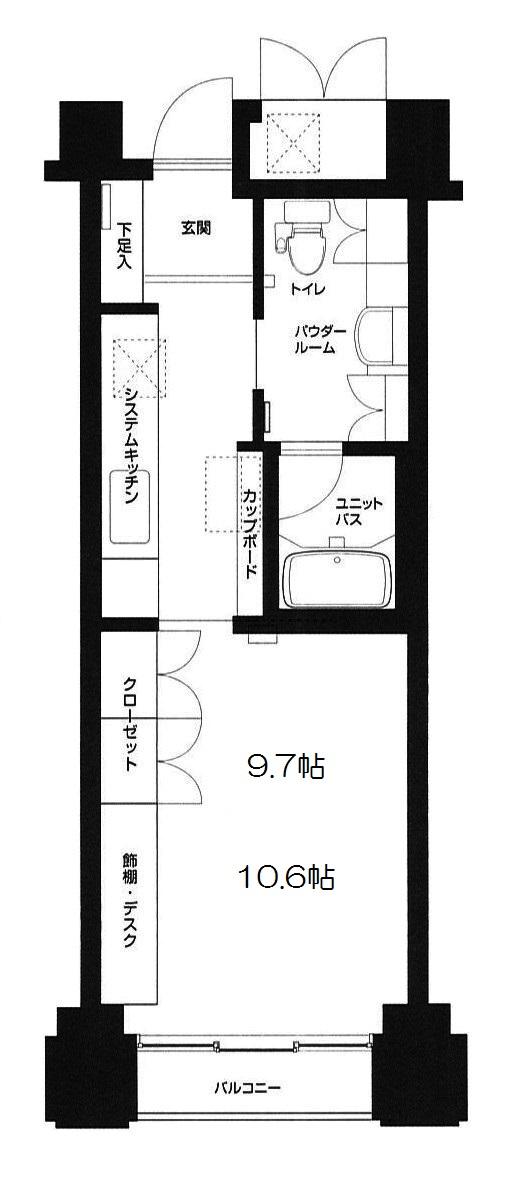 グリーンコアL渋谷502号室(賃貸)