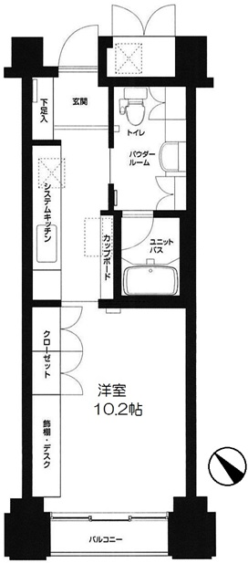 グリーンコアL渋谷 501号室