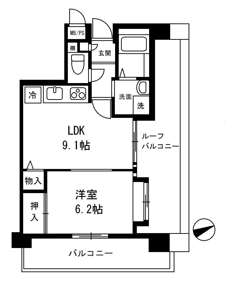 セザール元代々木 5階部分 501号室(賃貸)