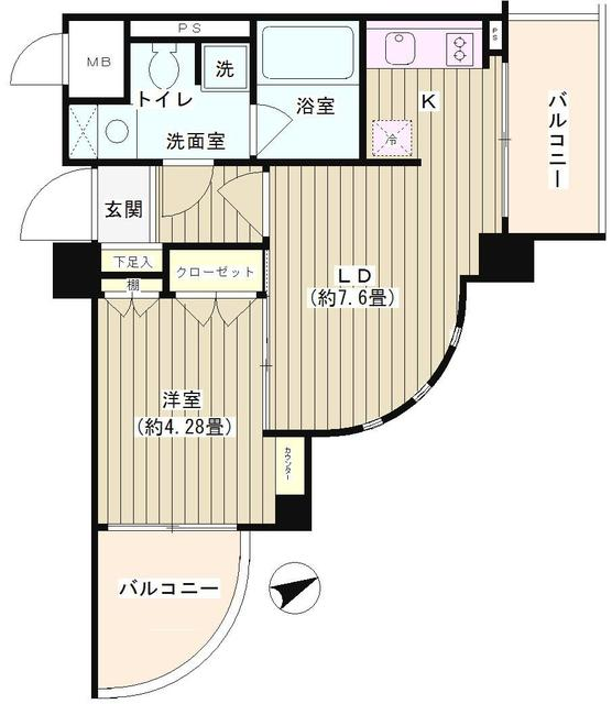 NONA PLACE 渋谷富ヶ谷 302号