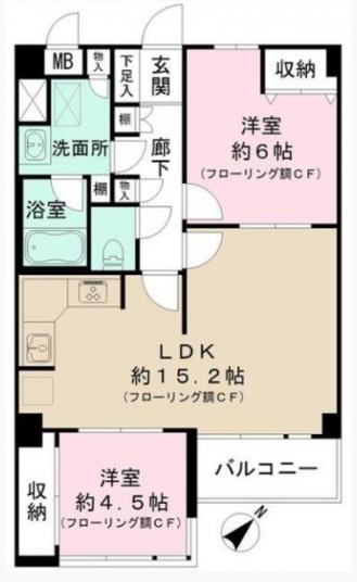 藤和参宮橋コーポⅡ 209号