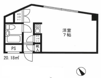 シャルム初台 112号室(賃貸)