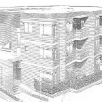 建物パース