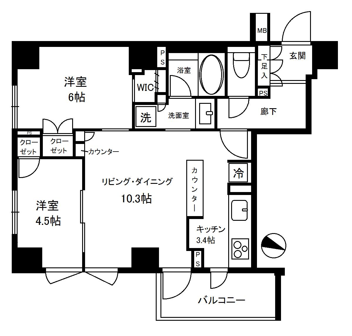 ブランズ渋谷神山町 2階