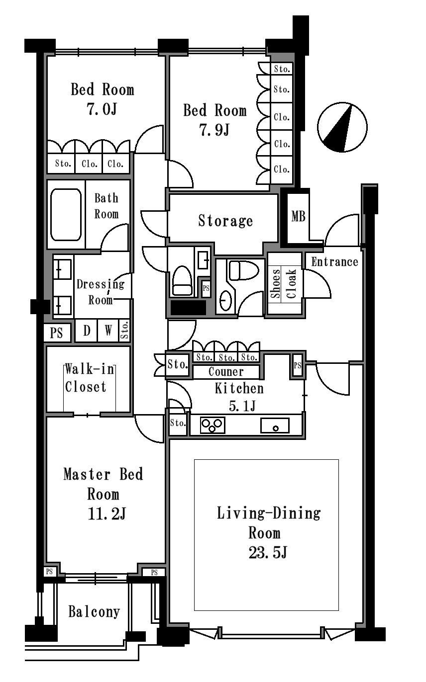 プライムメゾン御殿山WEST 306号室