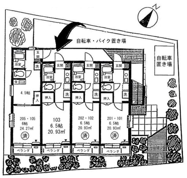 メゾン・ラフィネ 202号室