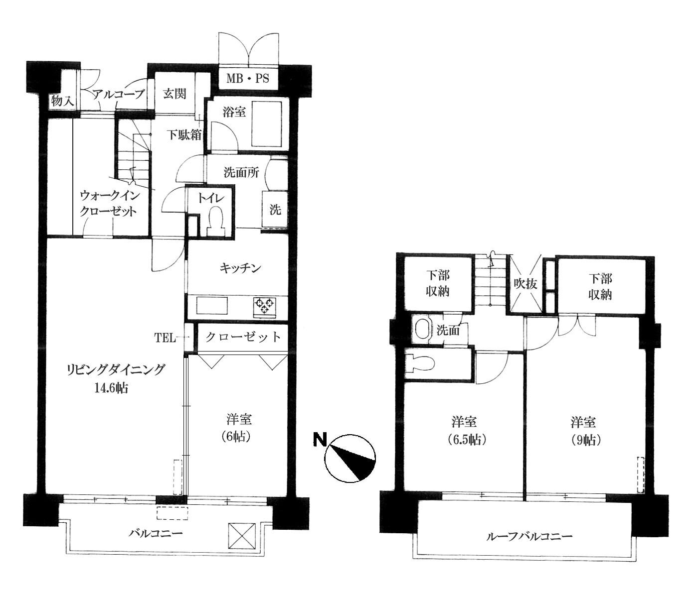 ベルアトーレ野沢 603号室