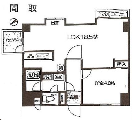 パークハイツY 401号室