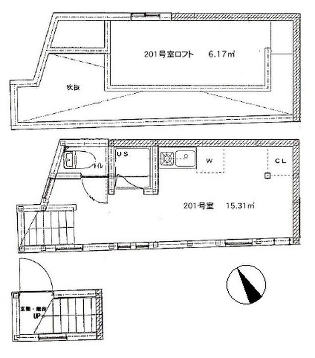 アーバンスクエア代々木公園 201号室