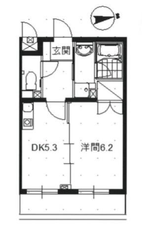 ロンボヌール 302号室