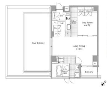 ブランクレア代々木公園 701号室