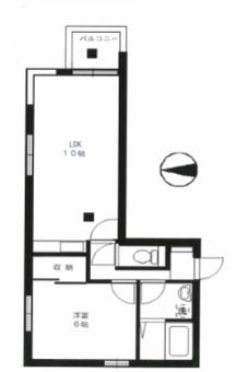 野沢フラット201号室(賃貸)