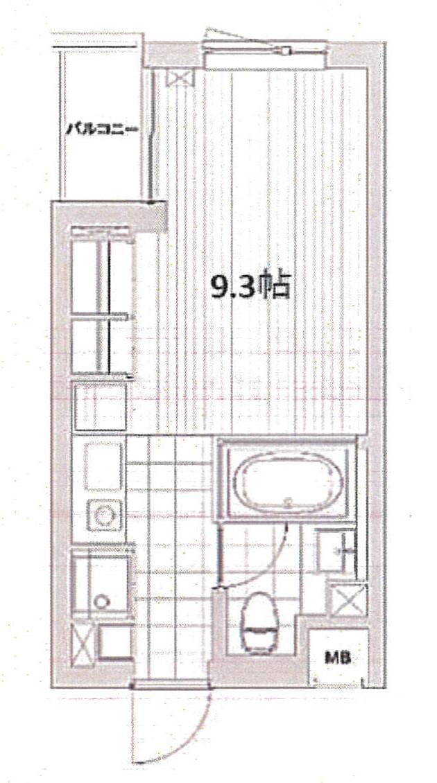 ☆オシャレなデザイナーズマンション☆Modelia Brut SANGUBASHI(賃貸マンション・SOHO可能)