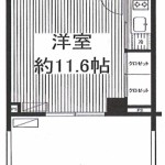 214号室間取(間取)