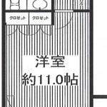 605号室間取(間取)