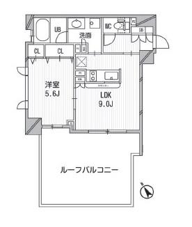 クリオ渋谷ラ・モード201号室(賃貸マンション)