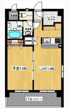 竹庭YOYOGI-KOEN202号室(賃貸)