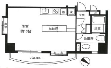 SOHO代々木公園604号室(賃貸)