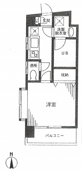 グラスコート代々木201号室(賃貸)