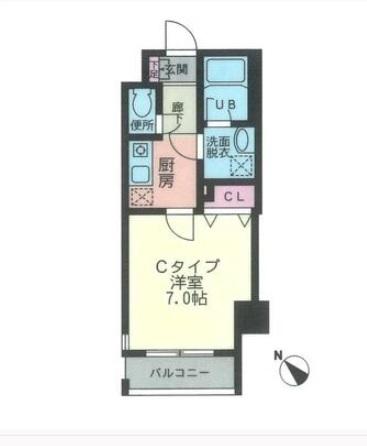 CimaCoppi803号室(賃貸)