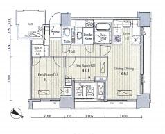 富ヶ谷スプリングス1503号室(賃貸)