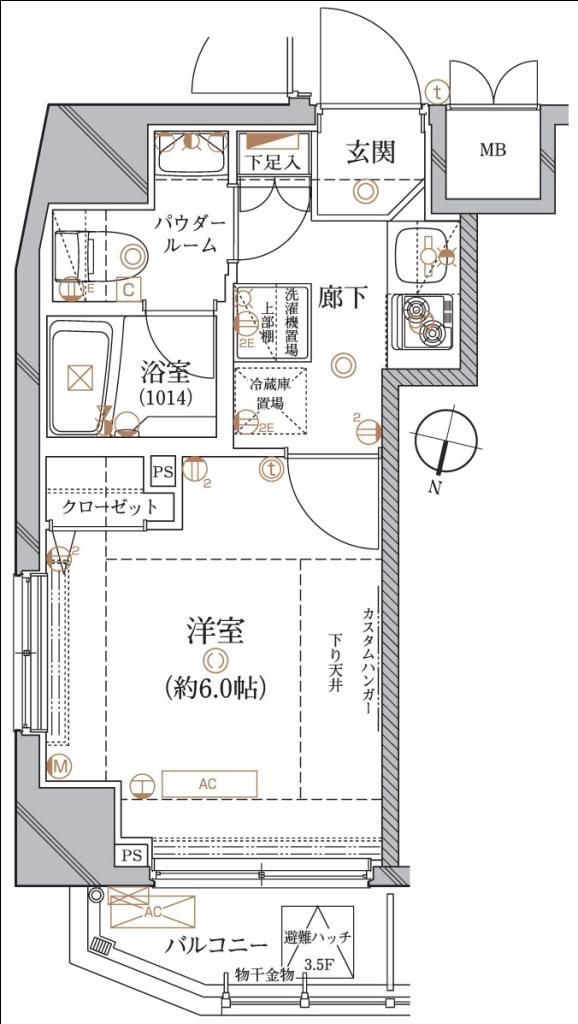 レアライズ代々木上原505号室(賃貸)