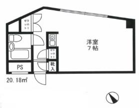 シャルム初台211号室(賃貸)