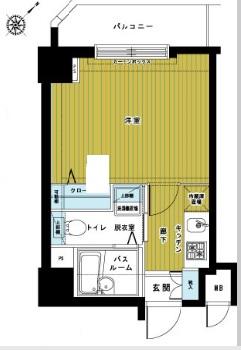 トーシンフェニックス松濤202号室(賃貸)