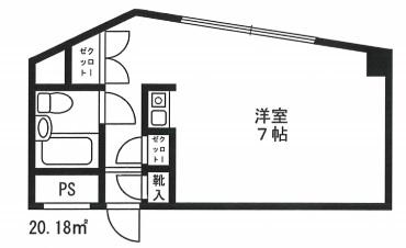 シャルム初台 212号室(賃貸)
