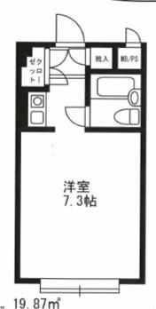 シャルム初台 205号室(賃貸)