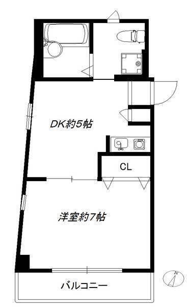 エスタディオ参宮橋301号室(賃貸)