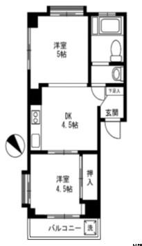コーポニュー初台 201号室(賃貸)