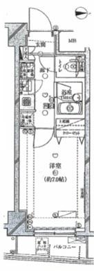 プレール・ドゥーク代々木八幡 203号室(賃貸)