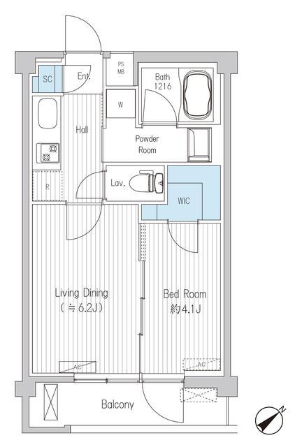 さくらクレール代々木公園 307号室(賃貸)