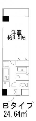 ヒューリックレジデンス参宮橋308号室(賃貸)
