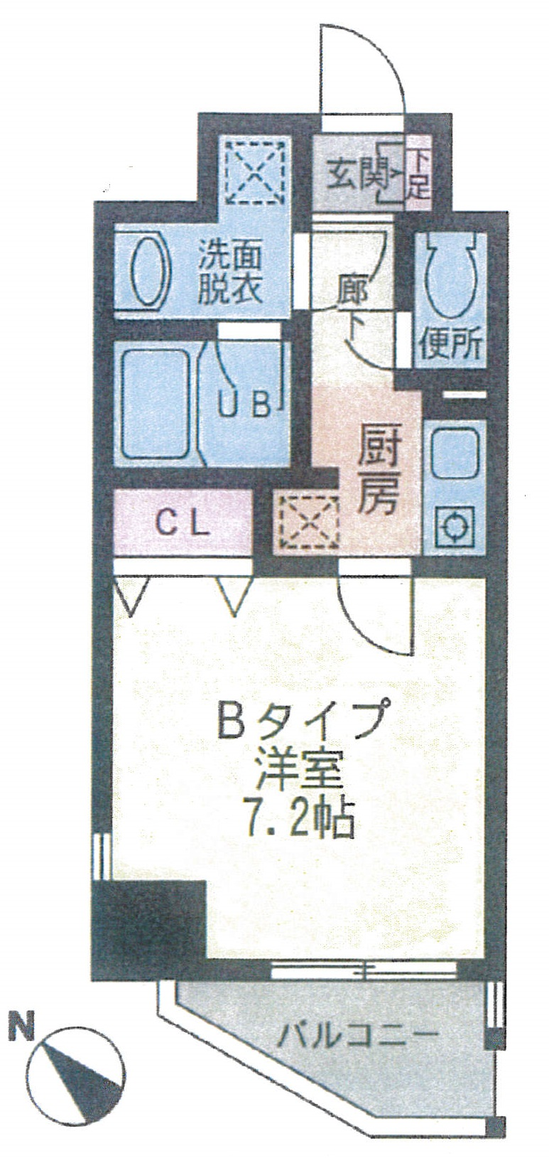Cimacoppi 602号室(賃貸)