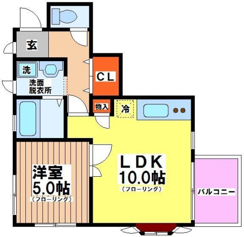 蒲公英(たんぽぽ)202号室(賃貸)
