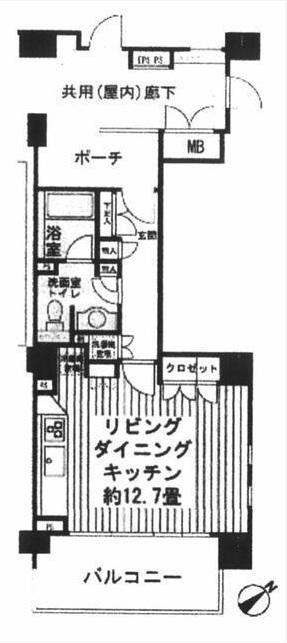 グレイスコート代々木公園2F(賃貸)