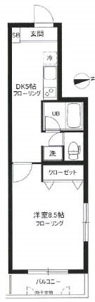 ミューズヨヨギウエハラ201号室(賃貸)