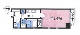 アルファ渋谷402号室(賃貸)