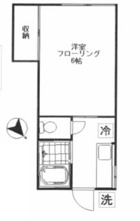 イエローハイム203号室(賃貸)