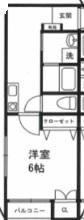 マメゾン二葉205号室(賃貸)