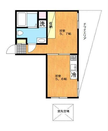 元代々木flat103号室(賃貸)